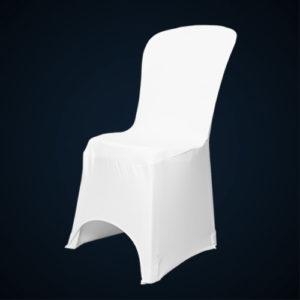 Housses de chaises Lycra blanc