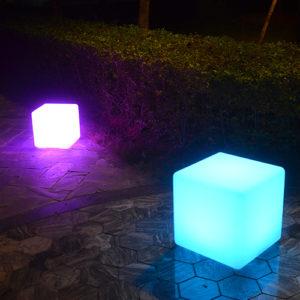 Cube lumineux location 49