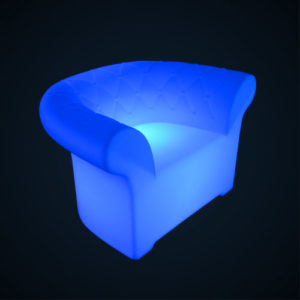 Fauteuil lumineux chester location