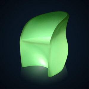 Fauteuil lumineux Flower location