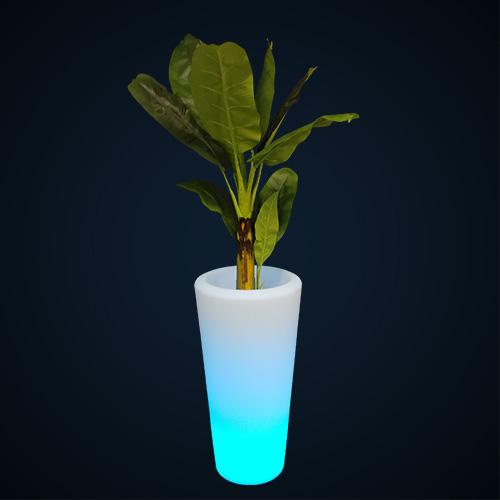 Pot de fleurs LED location