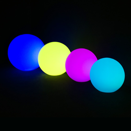 Sphères lumineuses location 49