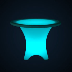 Table lumineuse location 49