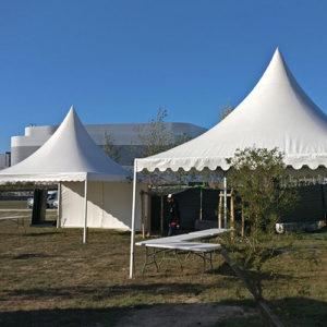 Tentes pagode location 49