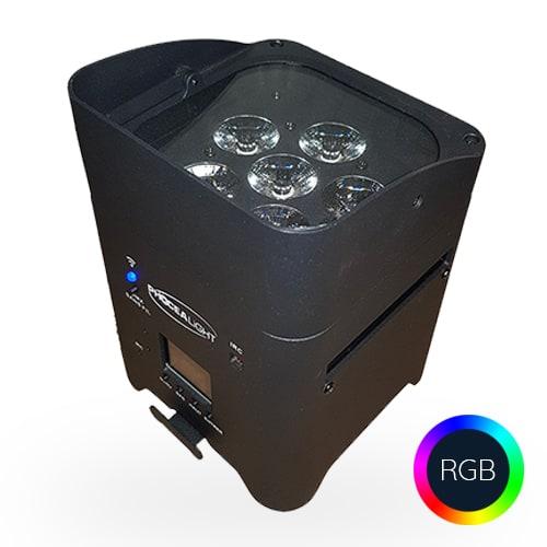 Spots LED sur batterie à louer