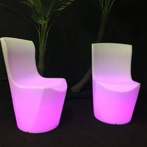 Chaise lumineuse location Angers