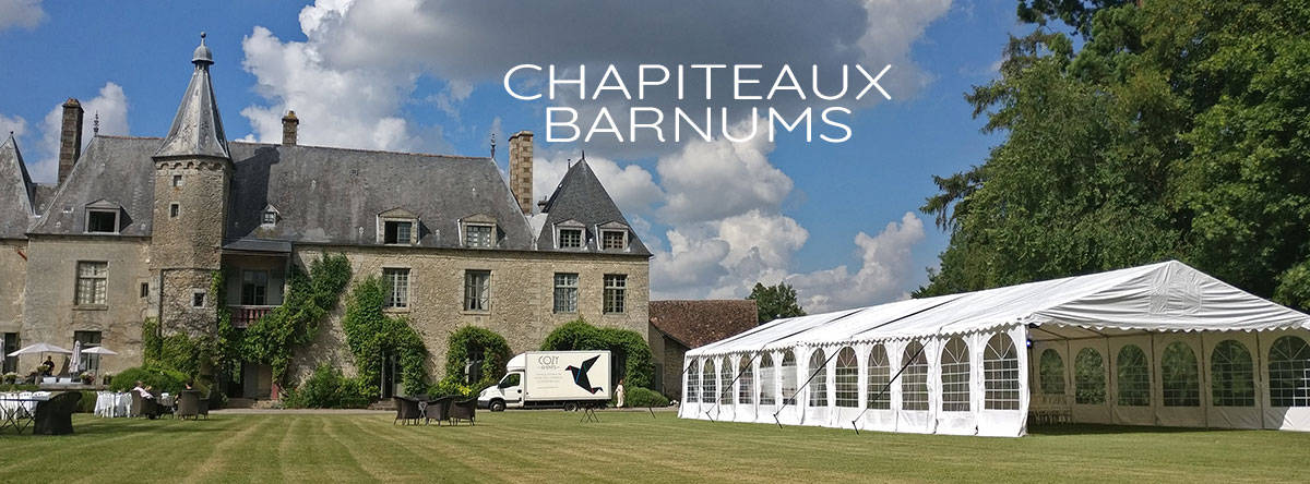 Chapiteaux Tentes Reception Location Cozy Events