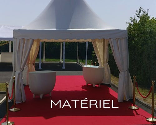 Materiel Evenement Location Cozy Events