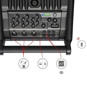 Systeme Son Triphonique Bluetooth
