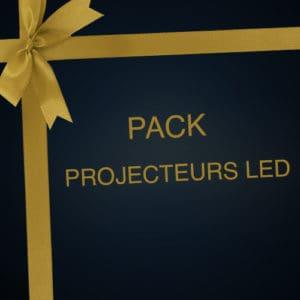 Pack location de spots LED sur batterie